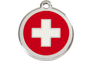 Swiss Cat Tag by Red Dingo