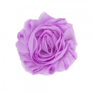 Aubergine Purple Flower Accessory for Cat Collars