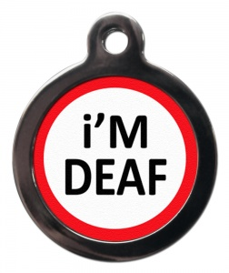 Deaf Alert Cat ID Tag