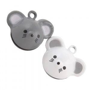 Cute Mouse Bell for Cat Collar