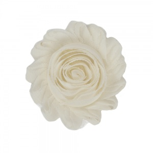 Ivory White Flower Accessory for Cat Collars