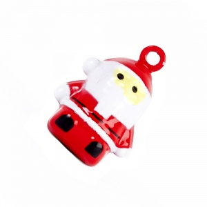 Santa Christmas Bell for Cat Collar