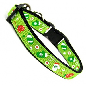 Mittens for Kittens Cat Collar | Green