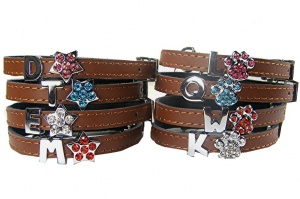 Cats Initial Personalised Cat Collars