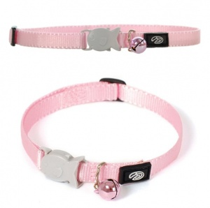 Pink Breakaway Kitten Cat Collar