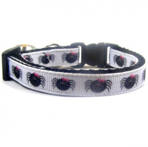 Incy Wincy Spider Cat Collar