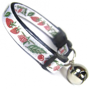 Summer Fruit Cat Collar