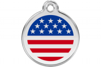 American Cat Tag by Red Dingo