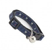 Anchors Away Cat Safety Collar - Blue