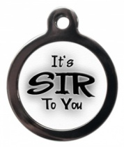 Sir Cat ID Tag