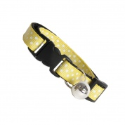 Yellow Dinky Dots Cat Safety Collar