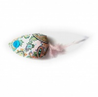 Feather Fish Catnip Cat Toy - Pink