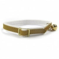 Gold Comfy Felt Cat Collar