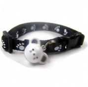 Mouse and Paws Cat Collar