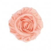 Peach Flower Accessory for Cat Collars
