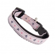Anchors Away Cat Safety Collar - Pink