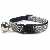 Tundra Cat Collar | White Leopard