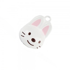 Bunny Rabbit Bell for Cat Collar