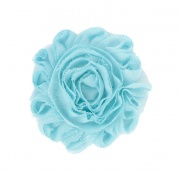 Light Blue Flower Accessory for Cat Collars