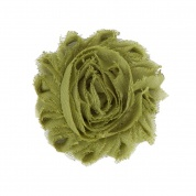 Olive Green Flower Accessory for Cat Collars