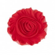 Cherry Red Flower Accessory for Cat Collars