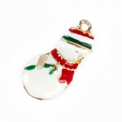 Frosty The Snowman Christmas Cat Collar Charm