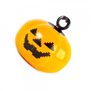 Orange Pumpkin Bell for Cat Collar