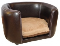 Cosy Beaumont Faux Leather Cat Bed
