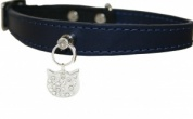 Noir Felicite Bobby Cat Collar