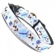 Blue Butterfly Collar for Cat