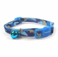 Blue Camouflage Cat Collar by Ancol
