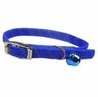 Blue Elasticated Cat Collar by Ancol