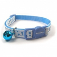 Ancol Blue Dotty Cat Collar