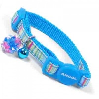 Blue Luxury Small Kitten Cat Collar by Ancol