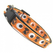 Orange Cats Eyes Cat Collar
