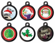 Christmas Cat ID Tags