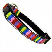Circus Stripe Cats Collar