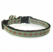Diamonds Jacquard Cat Collar