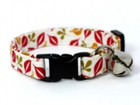Falling Leaves Cat Collar