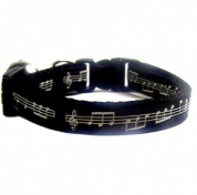 Black Jazz Cat Collar