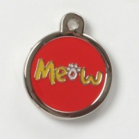 Meow Cat Tag