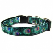 Peacock Cat Collar