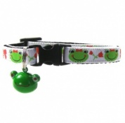Philippa Frog Cat Collar