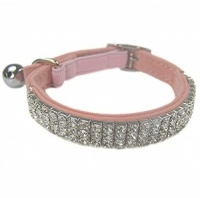 Posh Bling Cat Collar - Pink