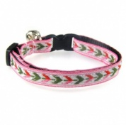 Arrows Jacquard Cat Collar
