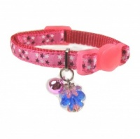 Pink Star Luxury Short Kitten Cat Collar by Ancol
