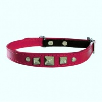Red Rock Bobby Leather Cat Collar