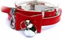 Red Bow Cat Collar by Puchi