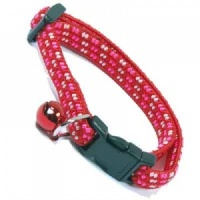 Red Elasticated Small Kitten Cat Collar by Ancol