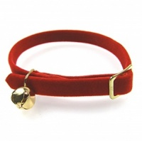 Red Velvet Cat Collar by Ancol